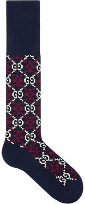 Gucci GG Diamond cotton socks