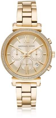 Michael Kors Sofie Pave Gold-tone Women's Watch
