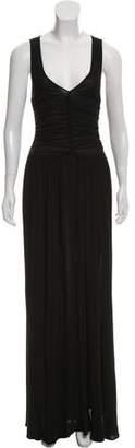 Celine Ruched Evening Dress