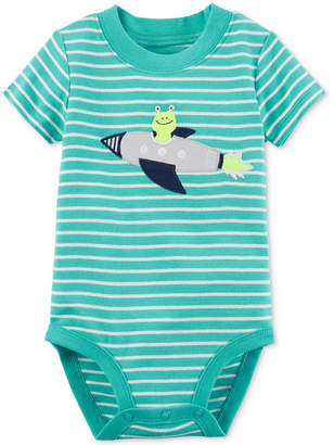Carter's Striped Alien Cotton Bodysuit, Baby Boys