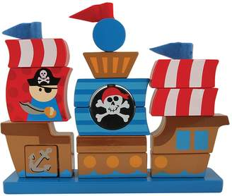 Stephen Joseph Pirate Wooden Stacking Puzzle Set