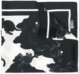 Class Roberto Cavalli (クラス ロベルト カヴァリ) - Cavalli Class tiger print scarf
