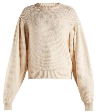 Stella McCartney Round-neck dropped-shoulder sweater