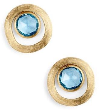 Women's Marco Bicego Jaipur Semiprecious Stone Stud Earrings $990 thestylecure.com