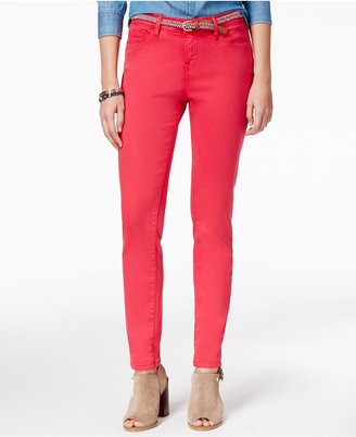 Tommy Hilfiger Mid-Rise Skinny Jeans, Only at Macy's $69.50 thestylecure.com