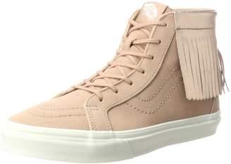 Vans VN000303FI0 Grade School SK8 Hi Moc Footwear Rose Gold
