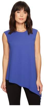 Anne Klein Asymmetric Hem Blouse Women's Clothing