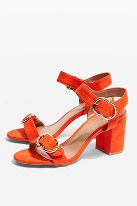 Topshop SAMBA Two Part Sandals
