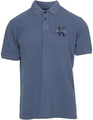Calvin Klein Jeans Polo In Pique Of Cotton