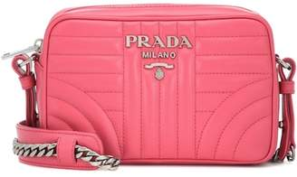 Prada Diagramme leather crossbody bag