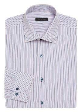 Saks Fifth Avenue COLLECTION Multi Stripe Dress Shirt
