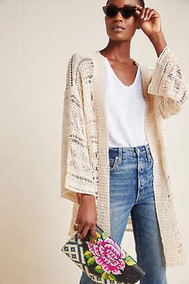 Anthropologie Carolina Textured Duster Kimono