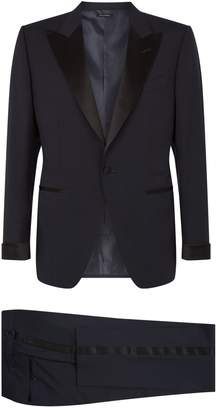 Tom Ford O'Connor Satin Trim Two-Piece Suit