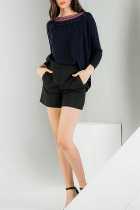 THML Clothing Neckline Detail Sweater