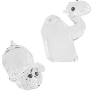 Swarovski 2-Piece Crystal Animal Figurines