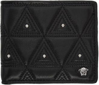 Versace Black Medusa Wallet $425 thestylecure.com