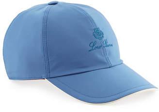 Loro Piana Wind Logo-Embroidered Baseball Hat