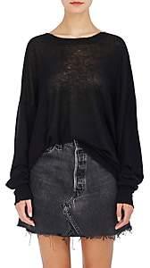 Alexander Wang Women's Distressed Sweater-Black