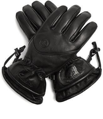 LACROIX LX Initial leather ski gloves