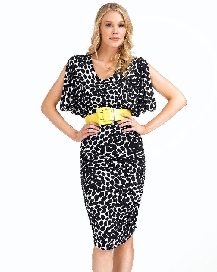Donna morgan belted dress
