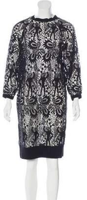 Isabel Marant Crochet Sweater Dress