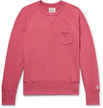 Todd Snyder + Champion + Champion - Slim-Fit Loopback Cotton-Jersey Sweatshirt