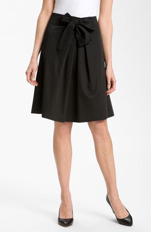 BOSS Black Bow Front Skirt