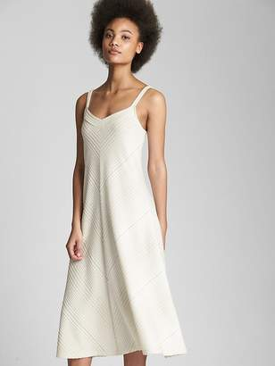 bf5b1fc7db ... Gap Ribbed Softspun V-Neck Midi Tank Dress