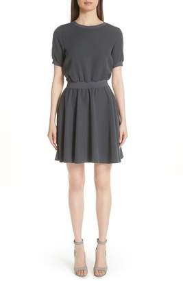 Emporio Armani Elastic Waist Dress