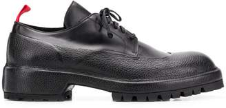 424 chunky sole Derby shoes