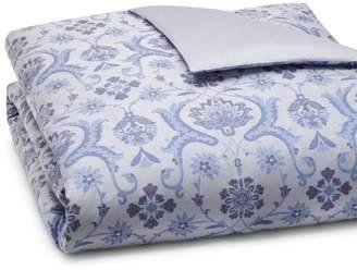 Amalia Home Collection Jaya Jacquard Duvet Cover, King - 100% Exclusive
