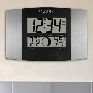 La Crosse Technology Digital Atomic Wall Clock