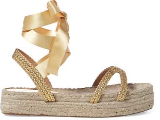 Ralph Lauren Janelle Lace-Up Espadrille