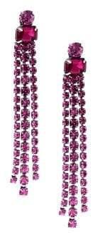 Kate Spade Crystal Fringe Drop Earrings