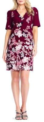 Adrianna Papell Floral Shift Dress