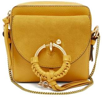 See by Chloe Joan Square Leather Cross Body Bag - Womens - Yellow