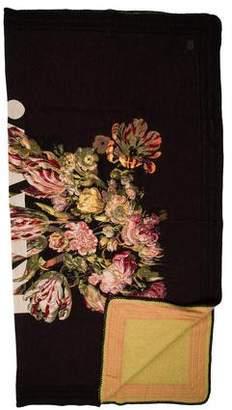 G Star Floral Throw Blanket