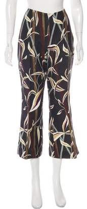 Christian Dior Cropped Wide-Leg Pants