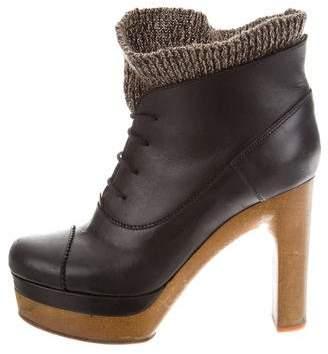 Chloé Platform Ankle Boots