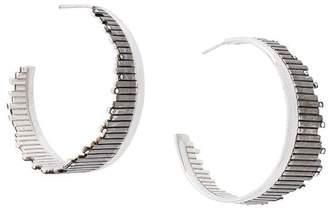 Charlotte Valkeniers Flare hoop earrings