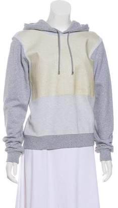 Balenciaga Hooded Long Sleeve Sweatshirt
