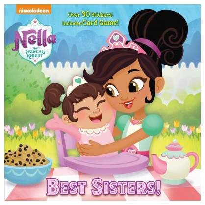 Best Sisters! - (Pictureback: Nella the Princess Knight) by George Glass (Paperback)