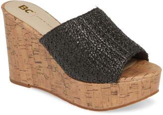 BC Footwear Perennial Vegan Wedge Sandal