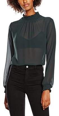 New Look Women's Shirred Shell Blouse
