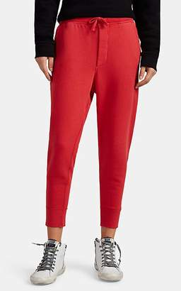 Nili Lotan Women's Nolan Cotton Jogger Pants - Red