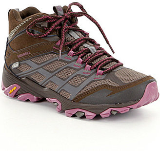 Merrell Moab FST Waterproof Hiking Booties $139.99 thestylecure.com