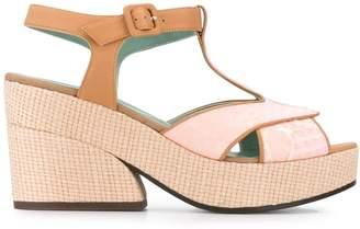 Paola D'arcano platform t-bar sandals