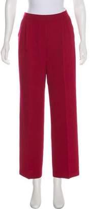 St. John High-Rise Knit Pants
