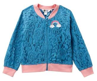 Petit Lem Lace Jacket (Toddler & Little Girls)