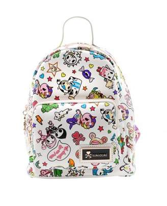 Tokidoki White Denim Daze Mini Backpack